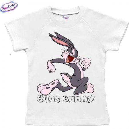 Детска тениска Bugs Bunny реглан ръкав