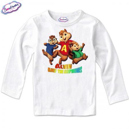 Детска блуза Катерички в бяло