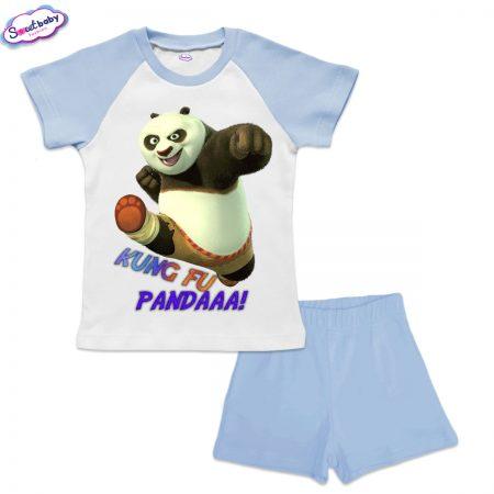 Детски сет KungFu Panda синьо бяло