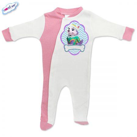 Бебешко гащеризонче Everest розово и бяло
