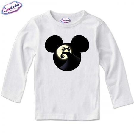 Детска блуза Мауси в бяло