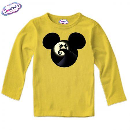 Детска блуза Мауси в жълто