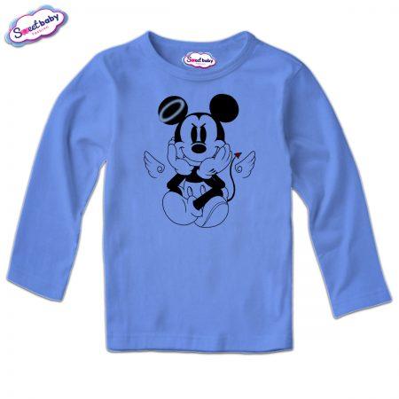 Детска блуза MikiDemon в синьо