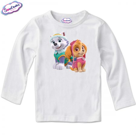 Детска блуза Скай и Еверест бяло