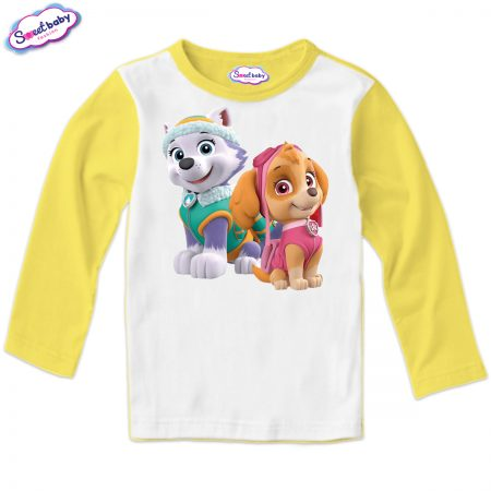 Детска блуза Скай и Еверест жълто