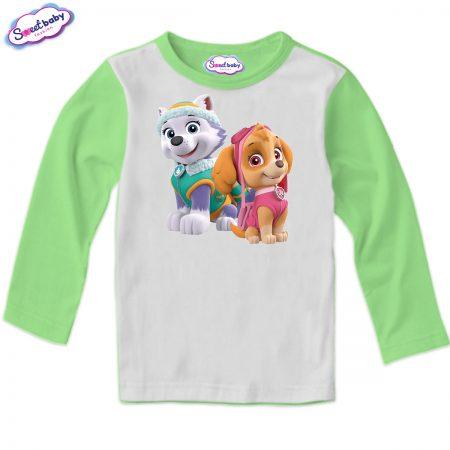 Детска блуза Скай и Еверест зелено