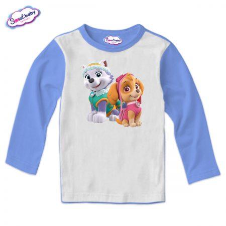 Детска блуза Скай и Еверест синьо