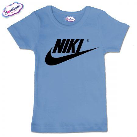 Детска тениска в синьо NIKI