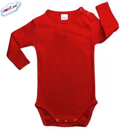 Бебешко боди в червен цвят