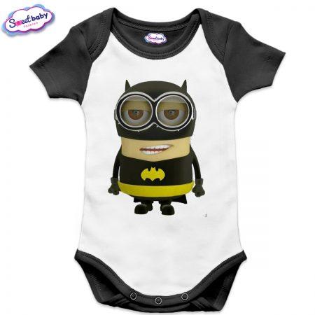 Бебешко боди US Миньон Батман черно