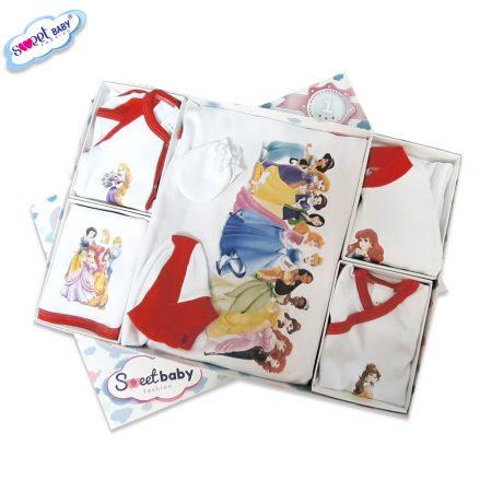 Комплект за изписване Принцеси червено 10 кутия