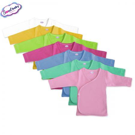 Бебешки камизолки сет от 7 едноцветни