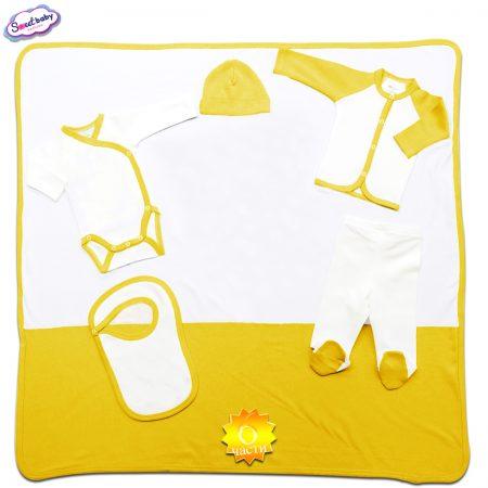 Комплект за изписване жълто бяло 6