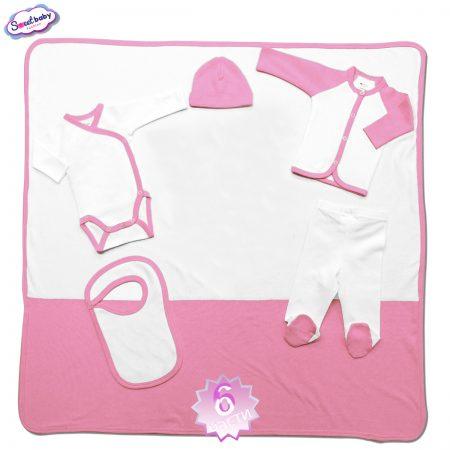 Комплект за изписване розово бяло 6