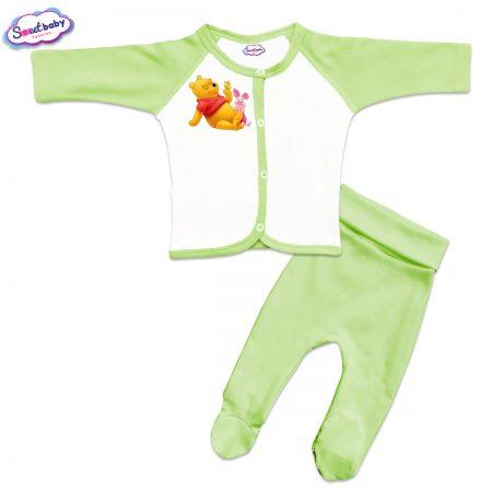 Бебешки сет Пух и Прасчо зелено